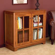 extra small bookcase with glass door furniture simple brown wood home drawer basket uk wheel leg