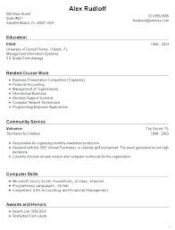 Resume Template For High School Students With No Work Experience – Lespa