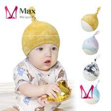 Mũ Beanie Thắt Nút Co Giãn Nhuộm Màu Bằng Cotton Cho Bé Sơ Sinh Mới chính  hãng 36,400đ