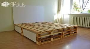 Simple Pallets Bed DIY Pallet Bed, Pallet Headboard & Frame