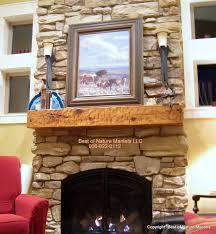 lovely ideas rustic wood fireplace mantels log mantels rustic fireplace