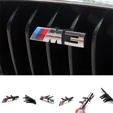 bmw m3 logo 3d. aliexpresscom buy 3d abs m3 m5 car grill badge emblem for bmw 3 5 series 320 328 framed dual slat front kidney grille bumper with m logo from bmw 3d