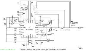 isl8115 single output buck controllers intersil typical diagram