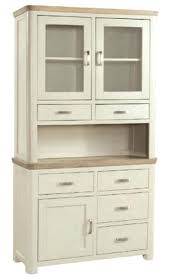 white buffet hutch small server with