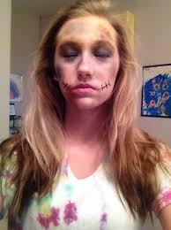how to do zombie make up