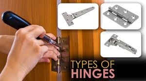 types of hinges. learn about different types of hinges - video guide