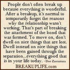 Getting Over A Break Up Quotes Impressive June 48 Get Back Ex Here