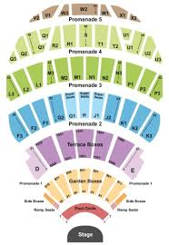 Hollywood Bowl Garden Box Seating Chart Hollywood Bowl Tickets And Hollywood Bowl Seating Charts