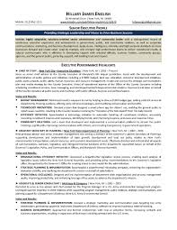 Executive Resume Executive Resume Example Template Examples Word Assistant 82