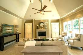 ceiling fans for vaulted ceilings hanging