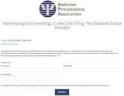 Apa Education On Twitter Getting Ready For A Graduateschool