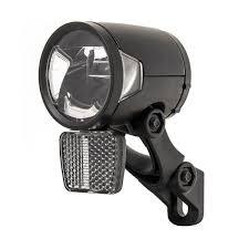 Herrmans Headlight H Black Mr8e 6 12v Led 50 Mm Black Internet Bikes