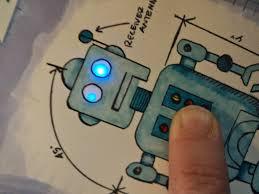 Diy Light Up Greeting Card Light Up Diy Chibitronics Robot Birthday Card Tutorial