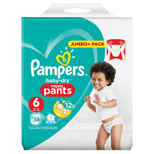 Pampers Baby Dry Pants Size 6 Nappies