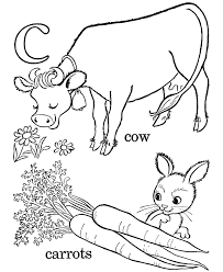 Small Picture Kids ABC Coloring Pages Letter C lc Free printable farm