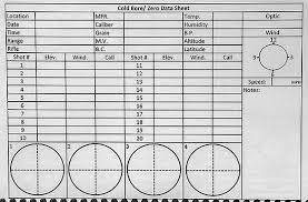 Mil Dot Chart Pdf Image Result For Mil Dot Shooting Log Book Pdf Artofit