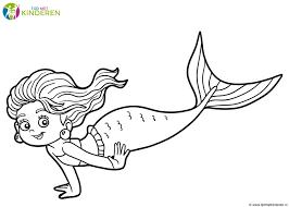 Ariel De Kleine Zeemeermin Kleurplaat Beste Kleurplaat