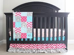 reserved baby girl crib bedding by