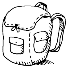 Small Picture Backpack Coloring Pages For Kids Backpack Coloring Pages Backpack
