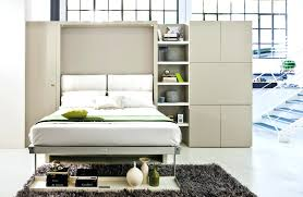 decoration: Modern Murphy Bed With Couch Exclusive Designer Wall Beds And  Sofa