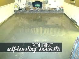 leveling a concrete floor concrete floor leveler how to level a concrete floor with self leveling