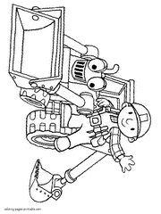 Small Picture Bob the Builder coloring pages