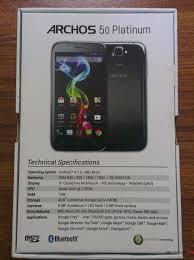 ARCHOS 50 Platinum smartphone review ...