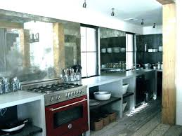 mirrored kitchen vintage mirror images antique backsplash kit