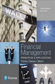 Access Financial Management Financial Management Sheridan Titman 9780134640860