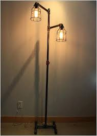 inspirational industrial style floor lamp canada correctly black iron pipe floor lamp faucet switch bulb cages