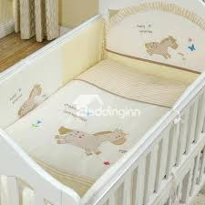 horse bedding set bouncy little horse pattern piece crib bedding sets horse bedding sets australia
