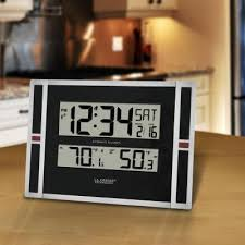 wwvb digital clock with temperature