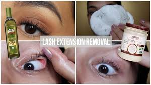 how to remove eyelash extensions at home experts share their best tips