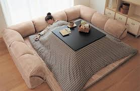 kotatsu japanese space heater table warm winter cozy