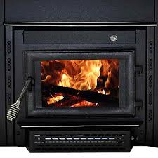 vogelzang colonial wood burning fireplace insert burns up to 8 hours on one fueling adjustable high sd blower