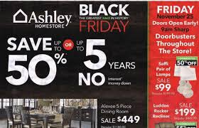 Ashley Furniture Black Friday ads and deals enchant loyal shoppers