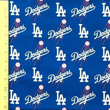 dodgers fabric dodgers fabric by the yard los angeles dodgers fabric