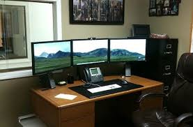 home office setup ideas. Interesting Office Home Office Setups Brilliant 50 Amazing Workstation Setup Computer  Regarding 8  Inside Ideas