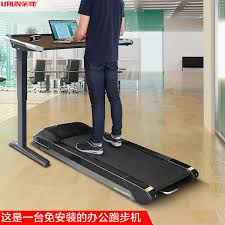 stand up treadmill under desk with wireless lcd display show distance sd time steps can calories adjule stand up desk step distance calorie