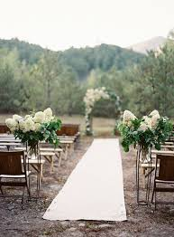 incredible outdoor wedding aisle runner image home decoration ideas