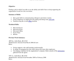Gallery Of Resume Cover Letter For Administrative Assistant