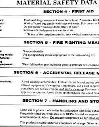 Safety Data Sheet Wikipedia