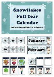 Free Printable Pocket Chart Cards Free January Pocket Chart Calendar Cards Snow Theme