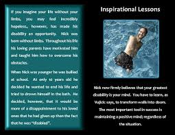 nick vujicic inspiration  nick vujicic inspiration