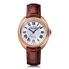 mens cartier watches the watch gallery cartier cle de cartier automatic rose gold silver dial mens watch wscl0007