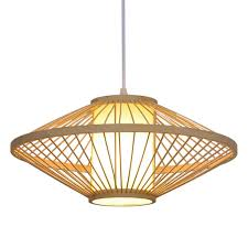 Asian Ceiling Lights Xajgw Southeast Asian Rattan Oval Ufo Dining Room Ceiling