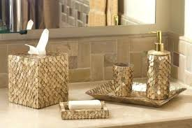 Decorative Accessories For Bathrooms Gold Bath Accessories Fancy Upscale Bathroom Accessories And 19