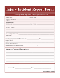 Accident Report Template Word 100 incident report template word Job Resumes Word 17