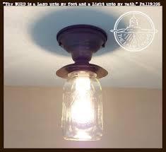 ball jar lighting. Mason Jar Exterior PORCH Farmhouse Ceiling Light Fixture - The Lamp Goods Ball Lighting