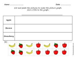 Picture Graph Bar Graph And Tally Chart Worksheets